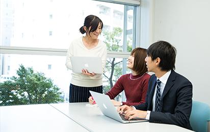 日本システムクリエイト 研修風景